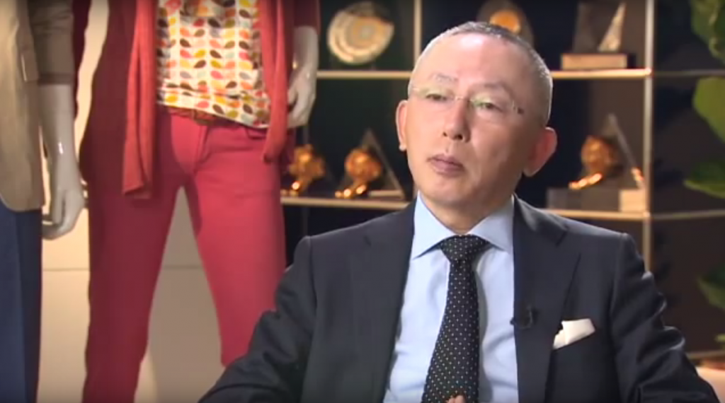 Tadashi Yanai Uniqlo MT