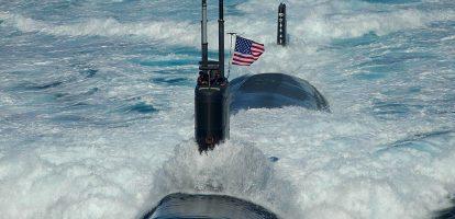 zelfsturing op een onderzeeboot, gooi het roer om