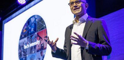 Satya Nadella Microsoft tech intensity MT