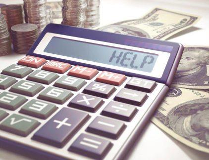 werknemer schulden helpen