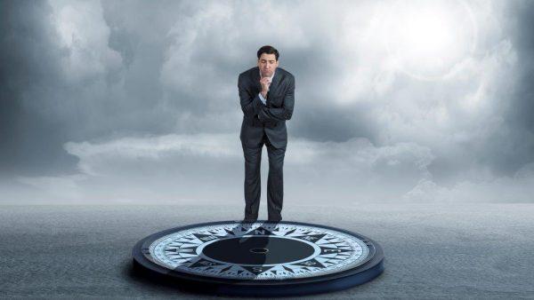 geen moreel kompas
