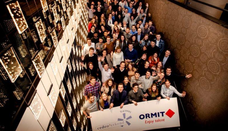 Foto CEDEO-keurmerk ORMIT traineeship trainees