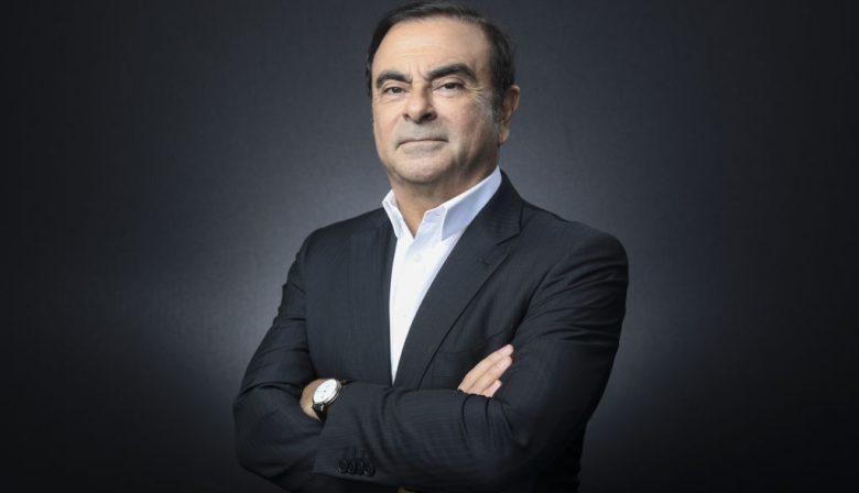 Carlos Goshn, voormalig topman Renault Nissan Mitshubishi