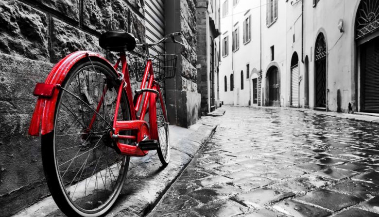 fiets rood