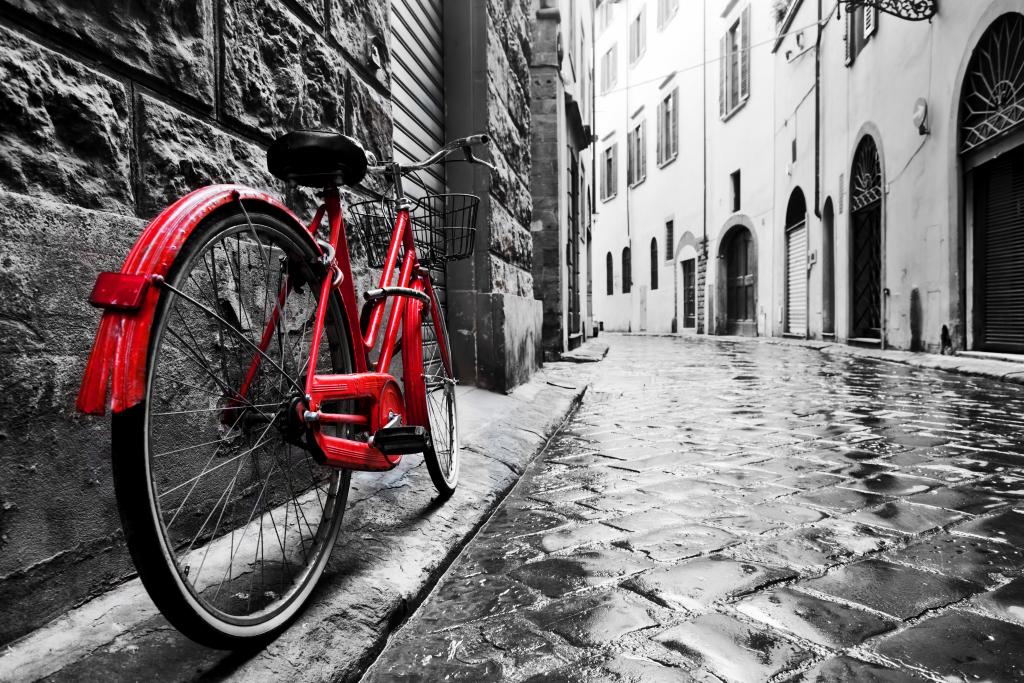 fiets rood