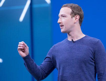 Mark Zuckerberg, oprichter en CEO van Facebook.