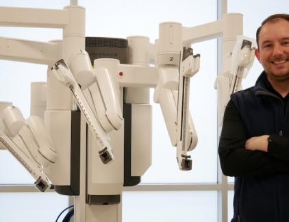 Nederlanders met leidinggevende functies bij tech-bedrijven in Silicon Valley geven inzicht in hun werk. Vandaag Maurice van Vugt (37), senior manager product engineering, imaging & intelligence bij Intuitive, een bedrijf dat medische hulpmiddelen maakt. 'Iedereen in Silicon Valley is een beetje paranoïde.'