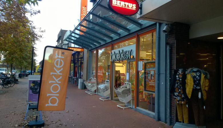 Een Blokker-filiaal in Stadskanaal.