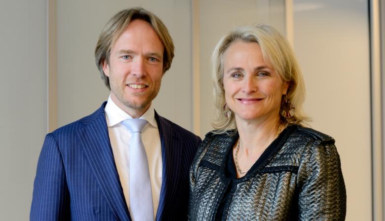 Marjan Rintel en Tjalling Smit NS Nederlandse Spoorwegen