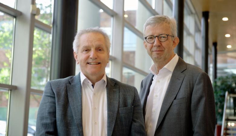 Tof Thissen en Peter van Stempvoort UWV