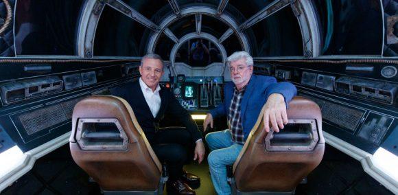 Bob Iger met George Lucas