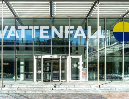 Hoofdkantoor Vattenfall in Amsterdam