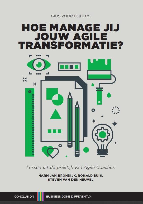 cover hoe manage jij jouw agile transformatie