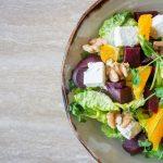 salade - geen vlees
