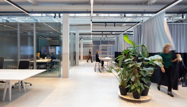 The Core in Amsterdam - kantoortuin moderne werkplek