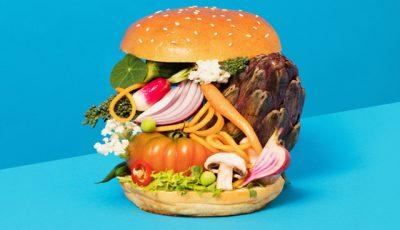Vlees of vega vegaburger