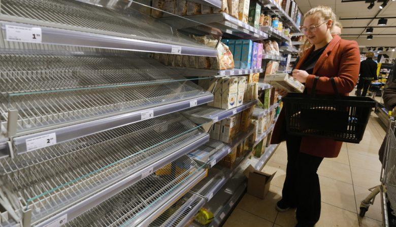 corona getty supermarkt supermarkten