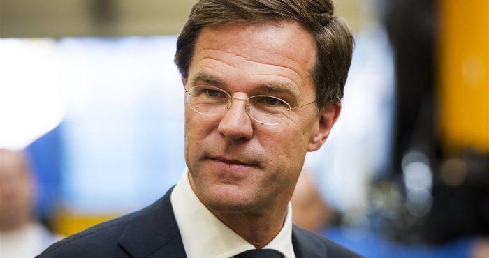 demissionair premier Mark Rutte