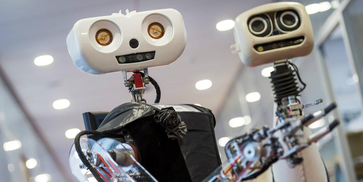 Bedrijven werken met robots