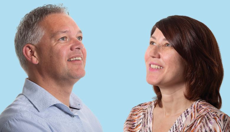 relatiemanager Robert Berendsen Alfa Accountants en Manon Berendsen