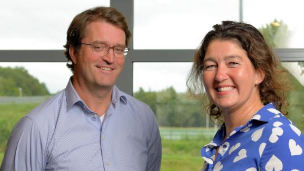 Koninklijke Auping Jan-Joost Bosman en Ine Stultjens