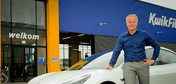 Kwikfit Directeur Pieter Bikker