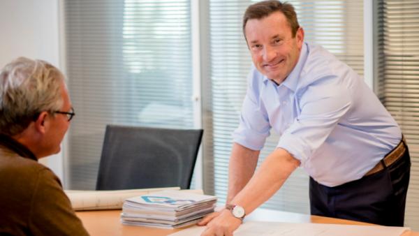 Technische Unie CEO Jan Ferwerda
