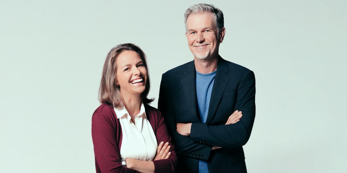 Erin Meyer en Reed Hastings