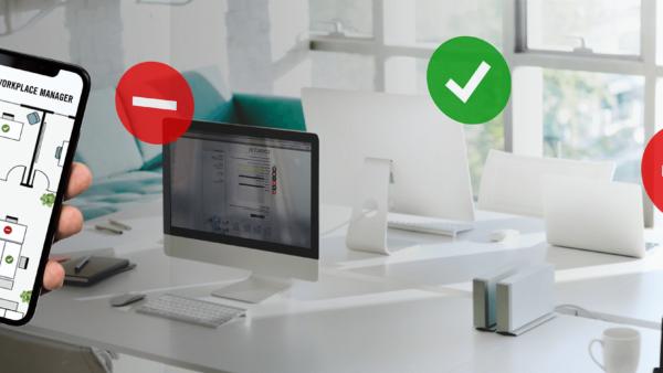 Het post corona kantoor maakt gebruik van slimme technologie