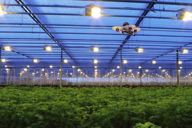 Robots in de landbouw