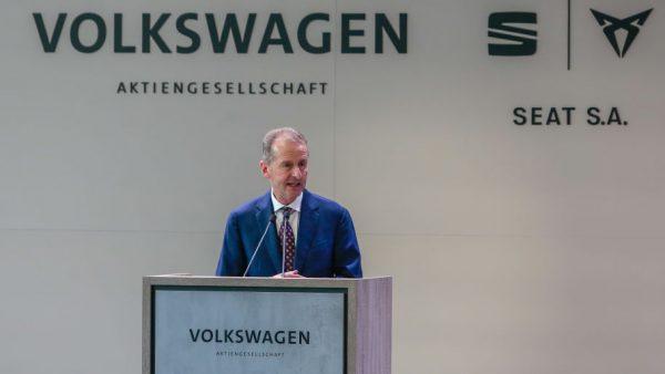 Herbert Diess topman Volkswagen