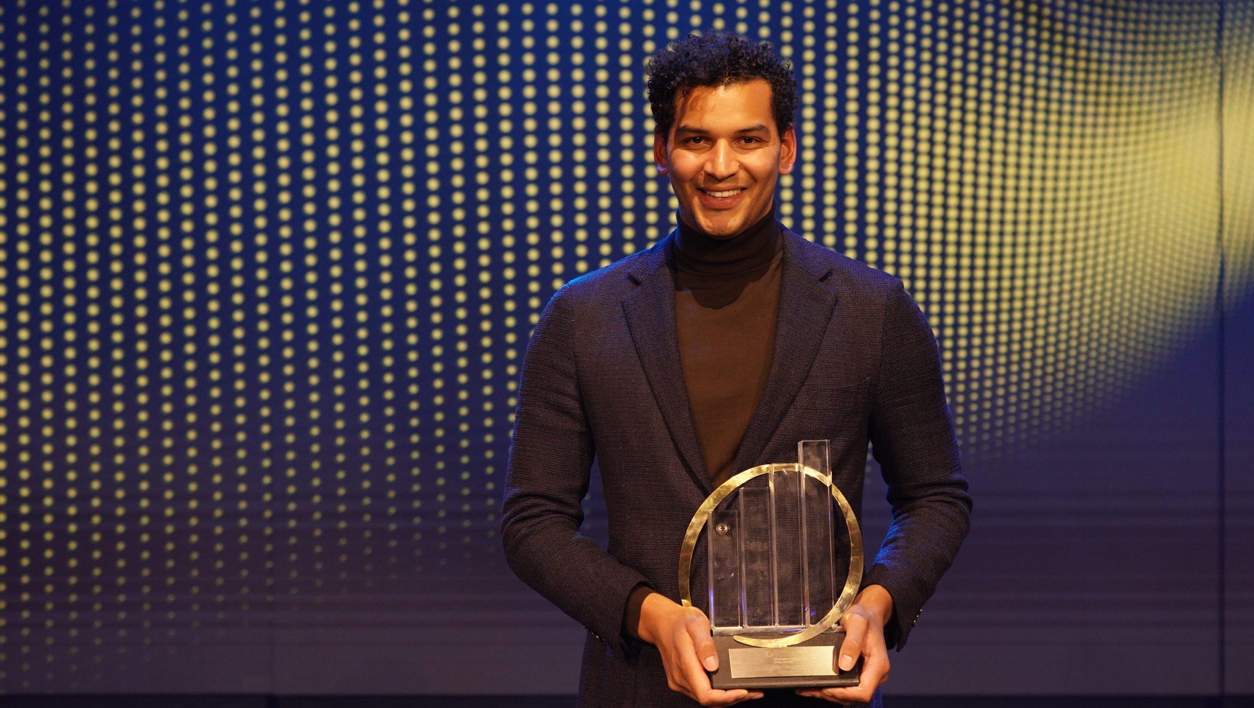 Milan Daniels ceo oprichter Otrium EY Entrepreneur of the Year Emerging categorie