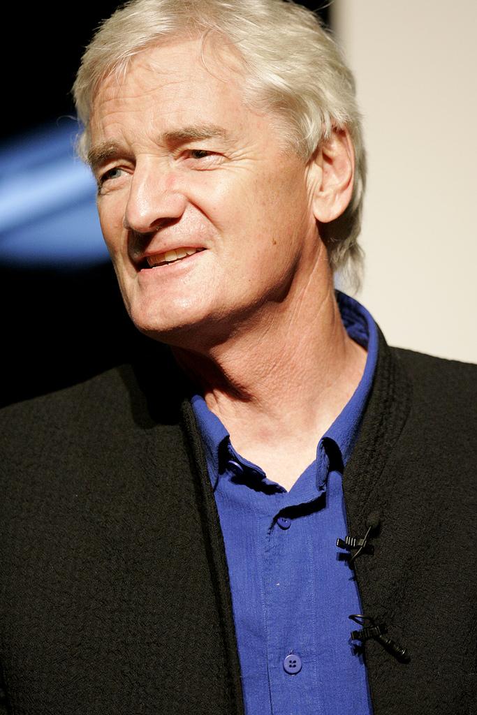 James Dyson, uitvinder van de filterloze stofzuiger