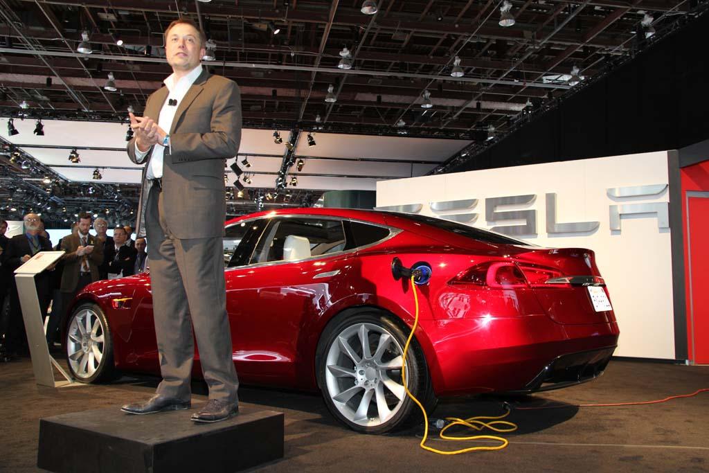 Elon Musk Tesla Tilburg elektrisch