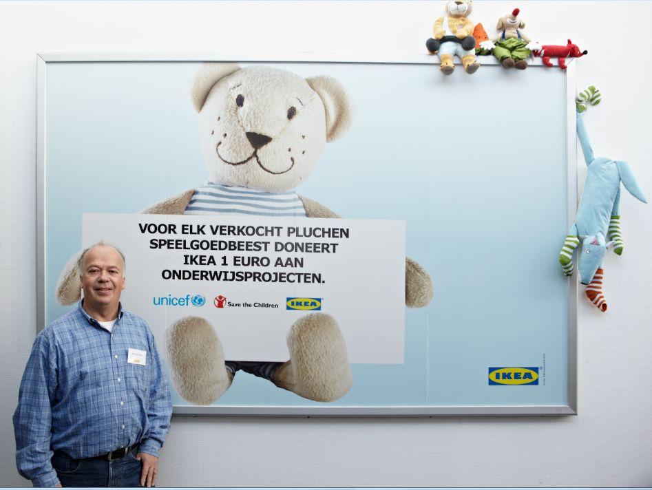 Ikea heeft verschillende merkaffiliaties met onder andere Unicef en ...