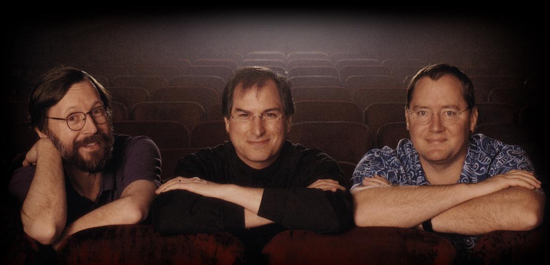 De grondleggers van Pixar
