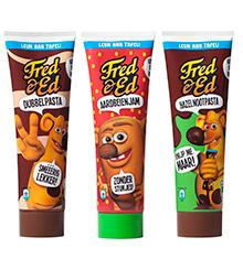 De tubes van Fred & Ed
