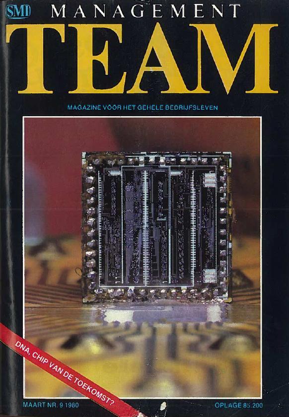Het tijdschrift Management Team, maart 1980