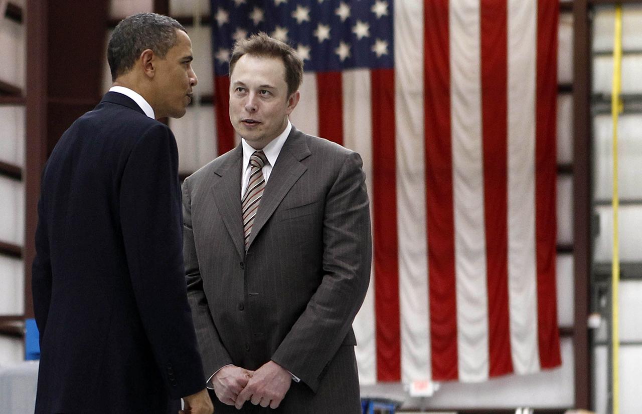 Elon Musk Paypal Obama